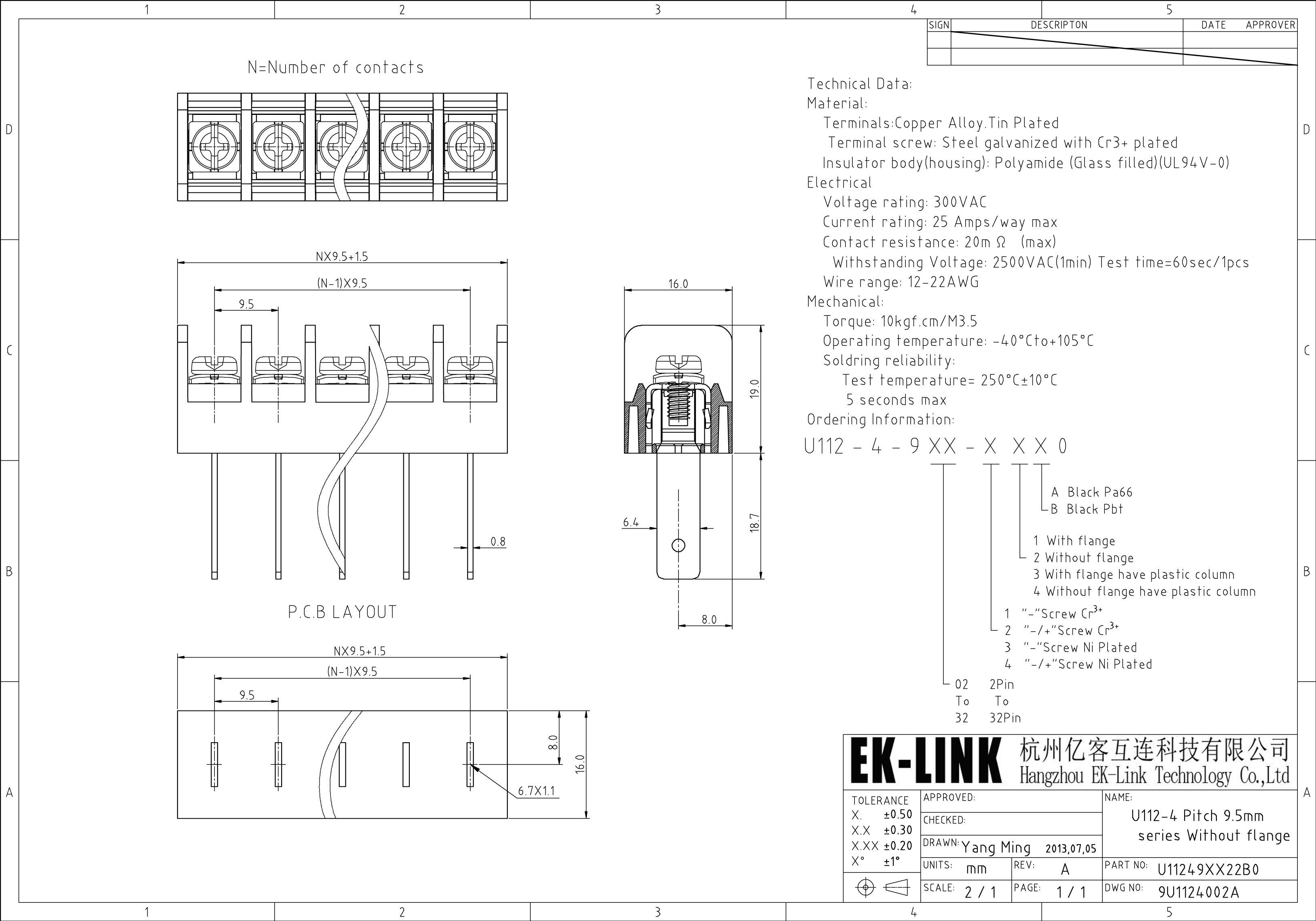 ek link wire connector barrier blocks strip electric. Black Bedroom Furniture Sets. Home Design Ideas